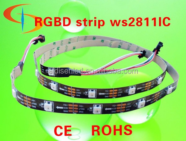 WS2812B 30Pixel/m,60pixel/m, Smart addressable dream color WS2812 LED Strip