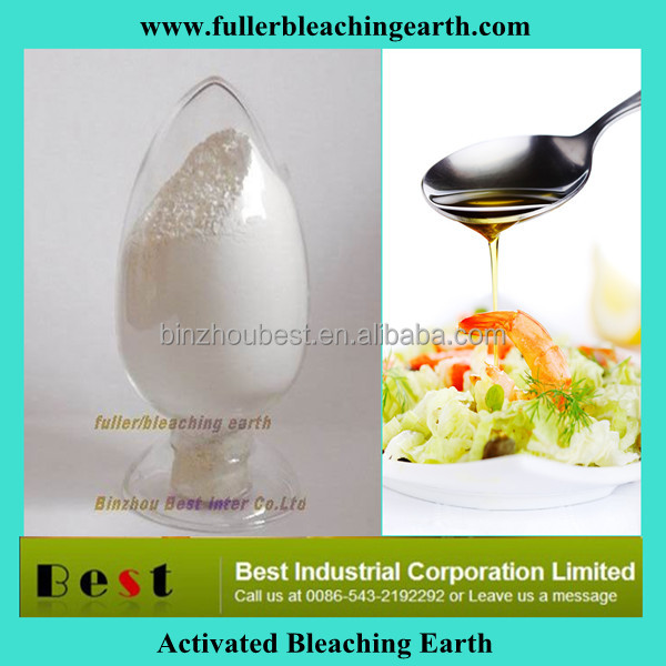 Favorites Compare activated bentonite bleaching earth clays for refining edible cooking vegetable oil