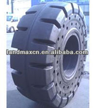 Solid Rubber Tire for waste yard or steel factory
