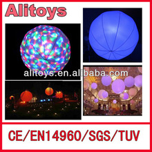 China inflatable Led Flashing Balloons,inflatable balloon with light