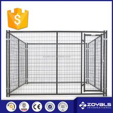 Folding easy to assemble aluminum dog cage