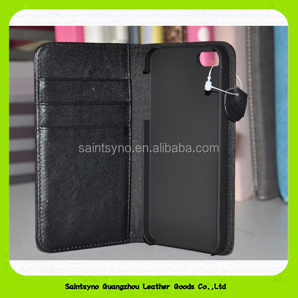 Universal wallet two mobile phones leather case for iphone 15099