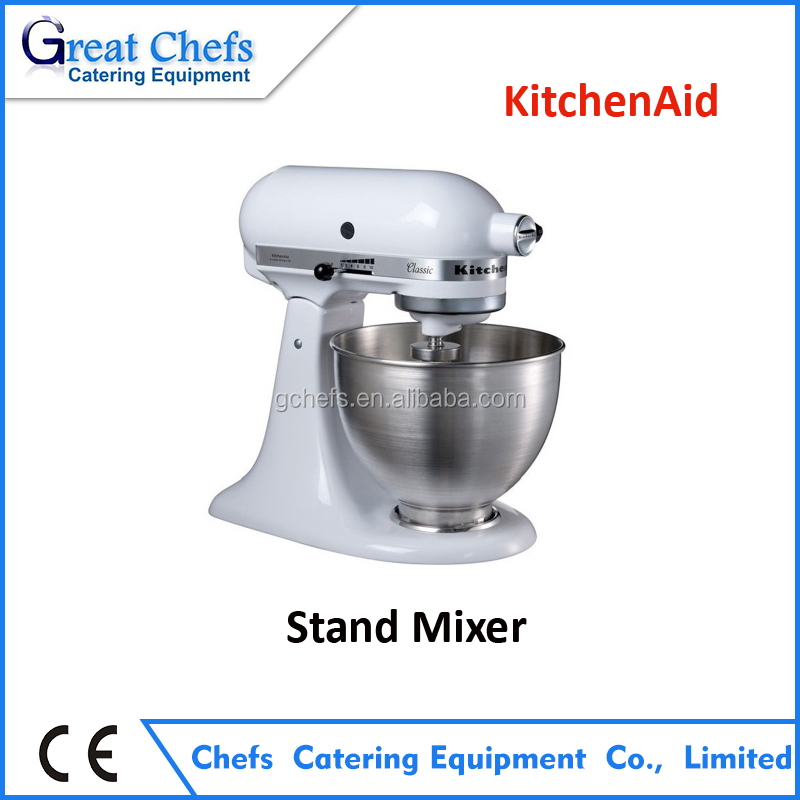 KitchenAid Countertop Stand Tilt-Head Food Mixer Model 5K45SSWH with 4.5 Quart Capacity