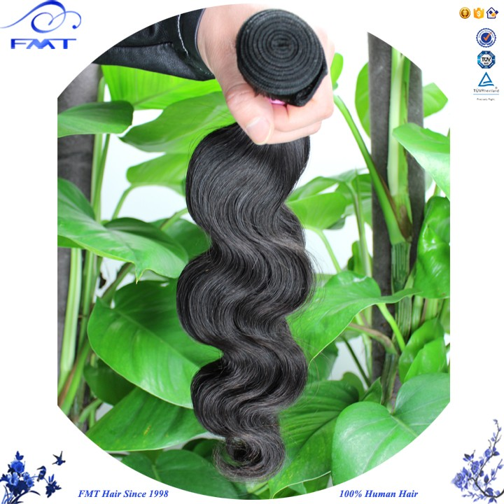 No Chemical Process Raw Bouncy Soft Noble 100% Brazilian Human Hair Rew In Weave
