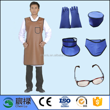 no sleeves x-ray protective lead rubber clothing