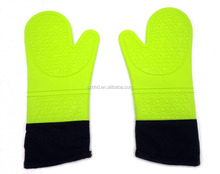 Professional Waterproof Silicone Oven Mitt Extra Long Oven Mitts Gloves,microwave oven use silicone hand gloves