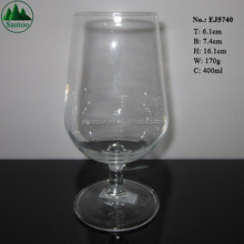 400ml Juice Water Drinking Glass with Stem