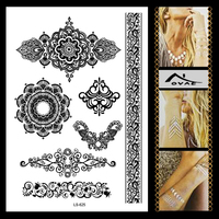 LS-625B Party Decoration Temporary Body Skin Jewelry Tattoo