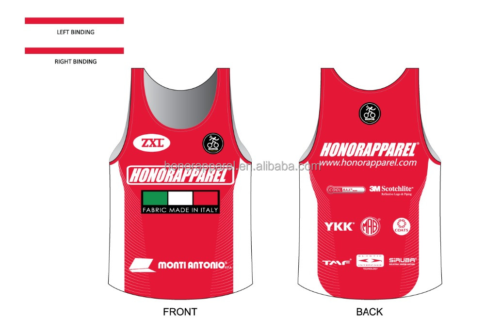 cool dry running singlet for male professional mountain bike jersey china supplier