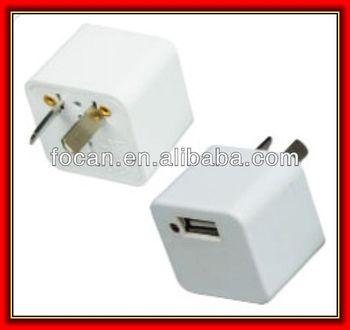 5v1000ma Mini Australia Plug Usb Wall Travel Ac Power Adapter ...