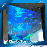 ChariotTech 3d Holographic Transparent Rear Projection