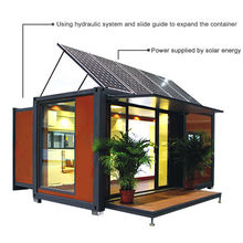 20FT/40FT Expandable Flat Pack Prefab Module Container House With Solar Energy