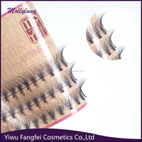silk material and hand made Type 3d silk eyelashes,permanent eyelashes