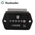 Runleader waterproof digital mechanical hour meter
