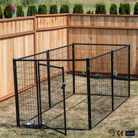 Large/ middle/ small iron stainless steel cheap dog cage