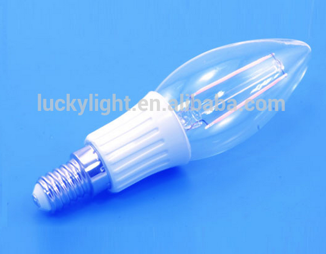 Super High Lumen 4W Ultra bright filament e27 LED bulb