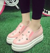 The new style korean fashion pleasant flat asakuchi attractive succinct lady shoes