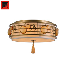 Modern new Chinese style restaurant living room decoration acrylic ceiling light