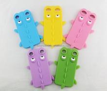 Cute cartoon Silicone mobile phone case for samsung note