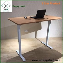 Electric and Manual standup desk folding table and chairs set