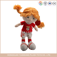 China Factory Wholesale 18 Inch Removable Plush American Girl Doll Toy Wth Outfit