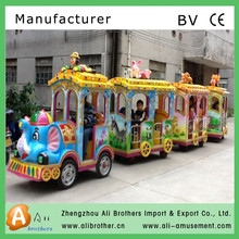 entertainment equipment kids fun train tourist train shopping mall mini trackless train