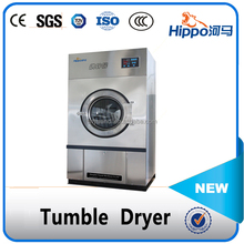 Hippo industrial clothes tumble dryer used in laundry shop