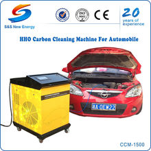 Car Engine Clean Machine, LCD Screen Automatic HHO Hydrogen Generator for Car Gasoline/Diesel Engine