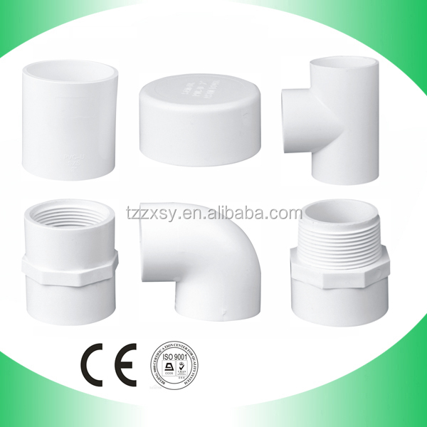 All SIZE All ITEMS PVC SCH40 Pipe Fittings