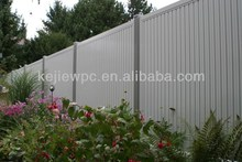 WPC Panel Weather Resistance Exterior Decorative Wall Cladding WPC Fence Wood Plastic Composite Fence Panels
