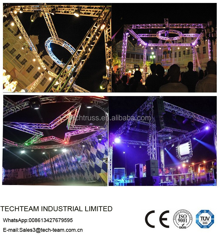 Medium spigot truss lighting concert stage truss for event