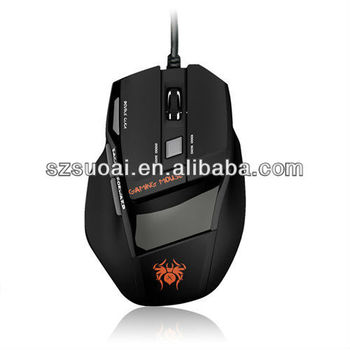 wired optical gaming computer mouse