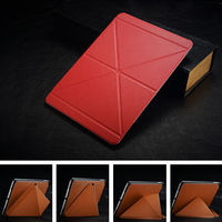 Original cover case for ipad 5, leather cover for ipad air, tablet case for ipad air