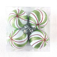 Promotional Top Quality Christmas Ball Ornament Caps for Decorating Christmas Day