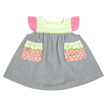 Wholesale Good Quality Baby Clothes Childrens Clothing Infant Baby Girls' Summer Casual Dresses