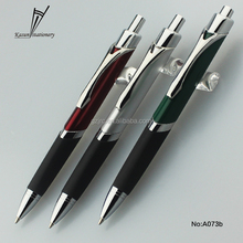 triangle shape recycle metal ball pen cheap promotional pen