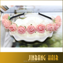 Headband wreath tiara band supplies Wholesale, Outdoor Wreath Artifical Flowers Head For Wedding