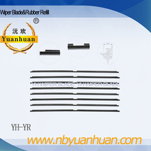 YH-YR windscreen wiper rubber refill long life time rubber wiper rubber replacement