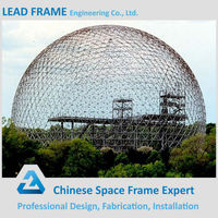 Light Frame Steel Structure Outdoor Dome House Made in China