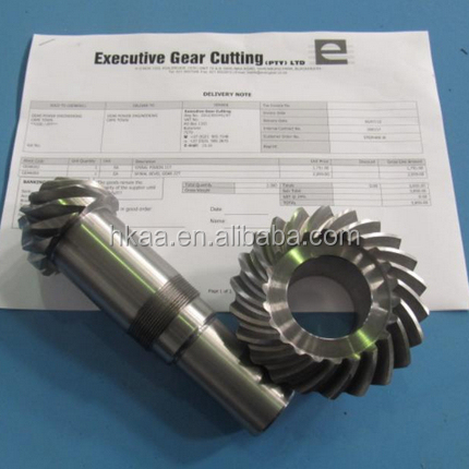 high precision hypoid bevel gear from manufacturer