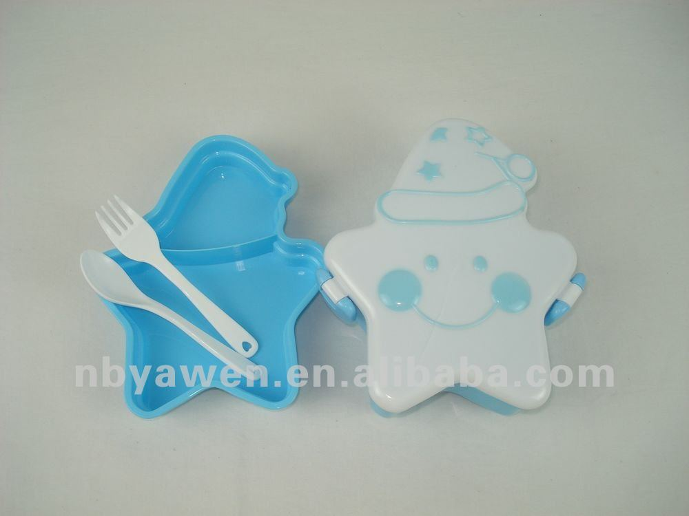 star shaped food containers plastic