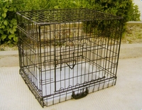 Pest Control Collapsible Double Dog Cage Many Sizes For Sale