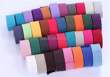 Best seller OEM design high density cotton tape webbing for bags belt