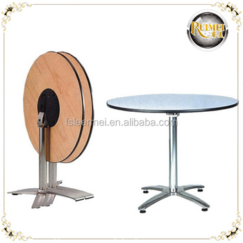 hotel round bar table