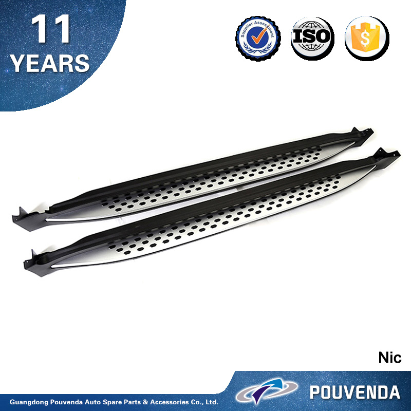 aluminum alloy running board For Chevrolet Captiva 2015 2016 Side step running board Auto accessories from pouven
