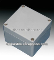 TIBOX Precision waterproof extruded aluminum enclosure used for electronics