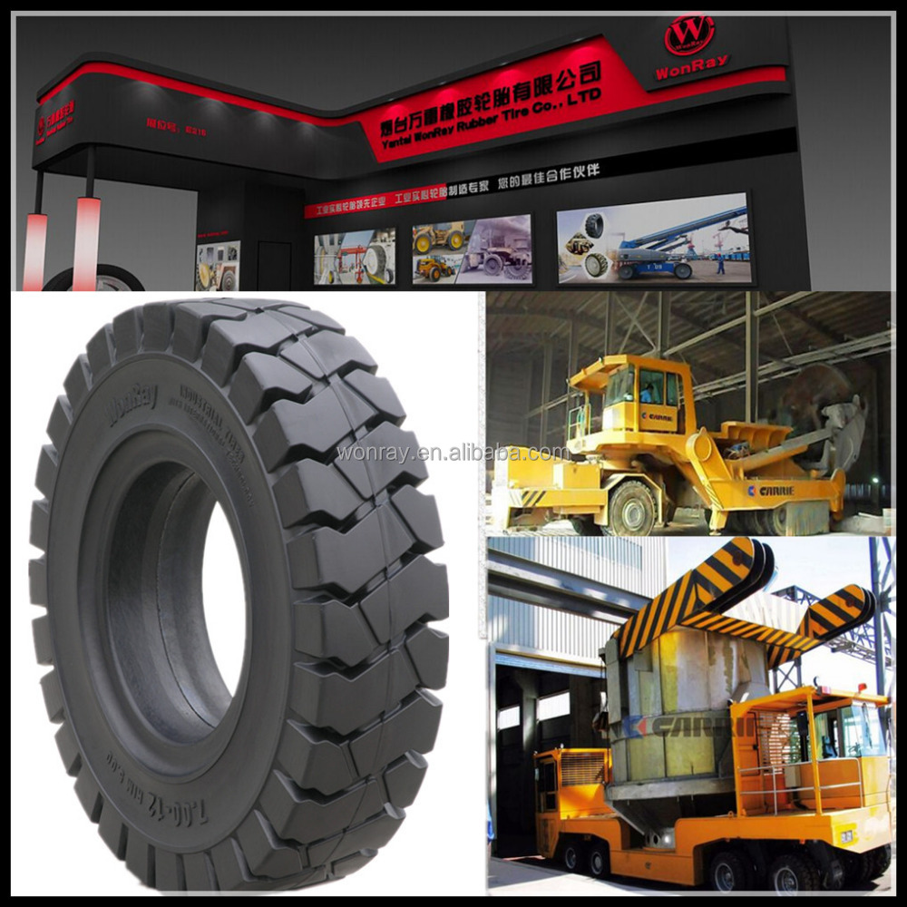 Quality Assured 11.00-20 Puncture Resistant Bullet Proof Solid Tire, Toyota forklift tires 23x9-10