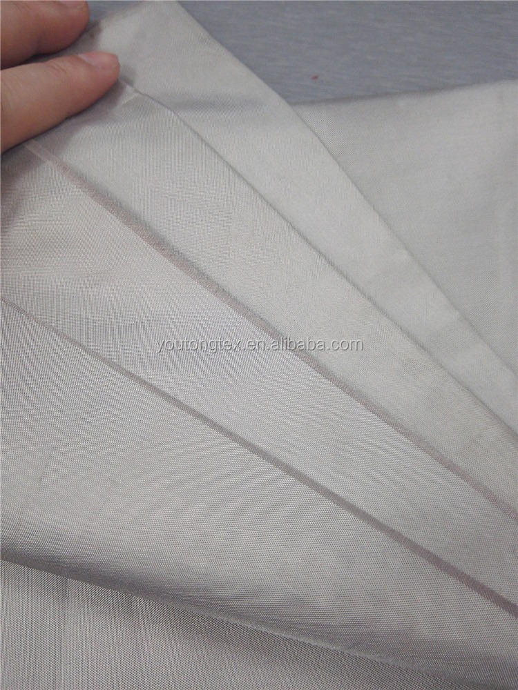 copper and nickel RIFD emf radiaiton shielding fabric