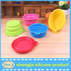 Best Selling Top Quality Durable Eco-friendly Silicone Pet Dog Bowl
