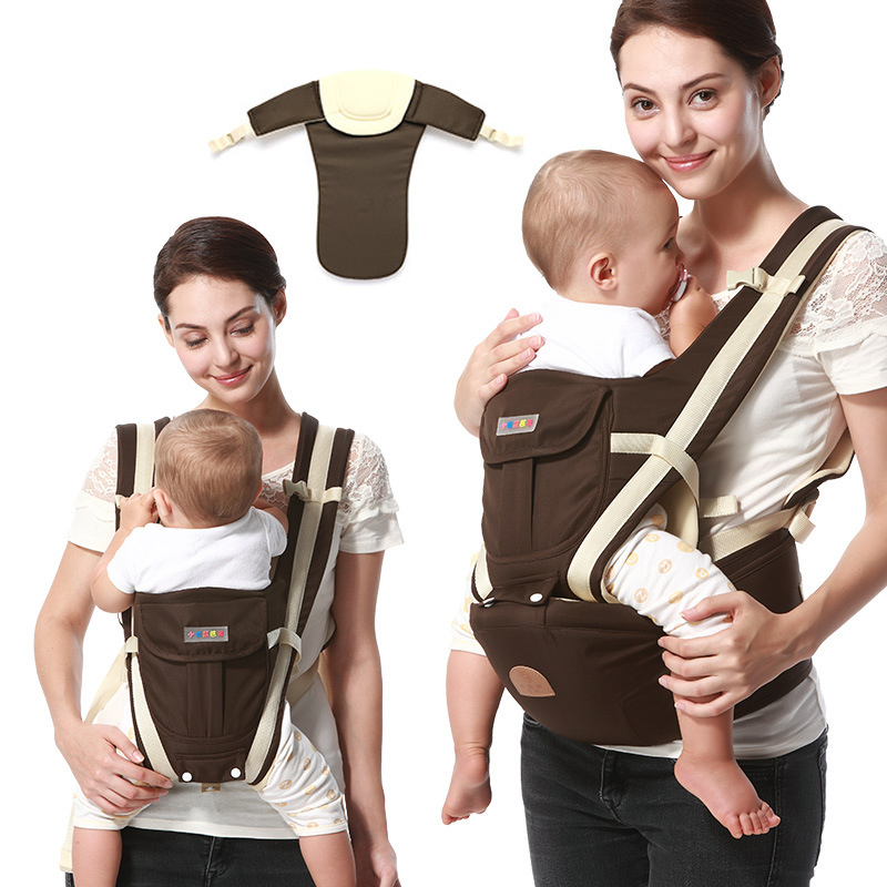 Multifunction Outdoor Kangaroo Baby Carrier Sling Backpack New Born Baby Carriage Hipseat Sling Wrap